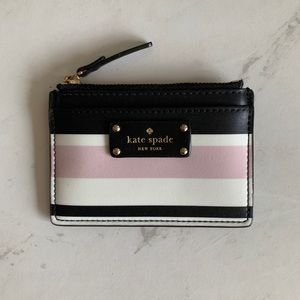 Kate Spade Card Holder with Zip Too